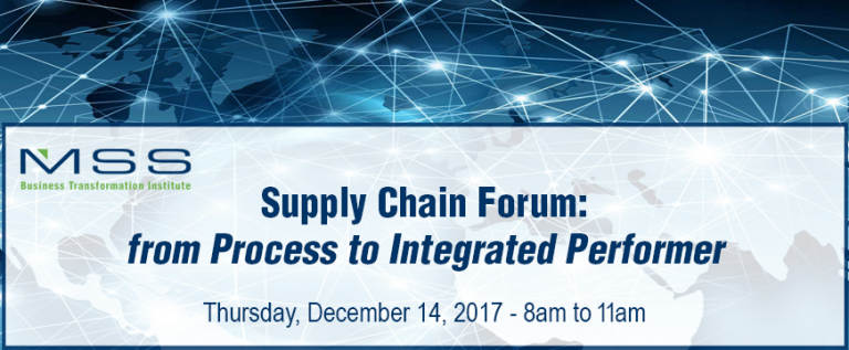 Supply Chain: from Process to Integrated Performer