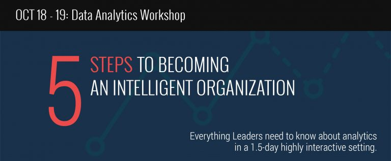 Data Analytics: 5 Steps to Becoming an Intelligent Organization