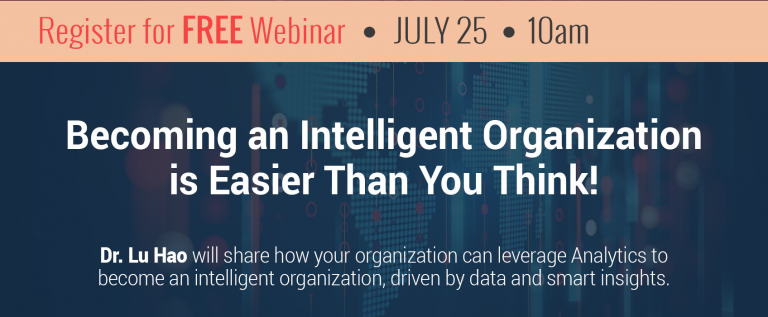 Webinar: Becoming an Intelligent Organization is Easier Than You Think